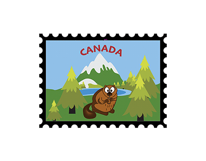 Illustration - Canada Postage Stamps