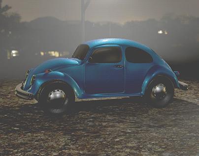 Beetle Fog Scene