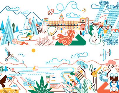Paradores de Turismo - 2021 Calendar