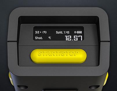 «SG Shot Sensor». Product design and prototyping