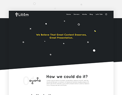 Liliom Website - UI/UX Design