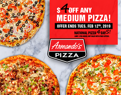 National Pizza Day Promo