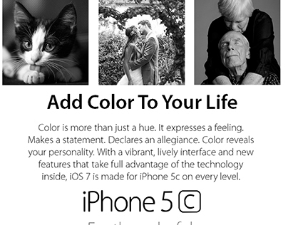 iPhone 5c: Add Color to your Life