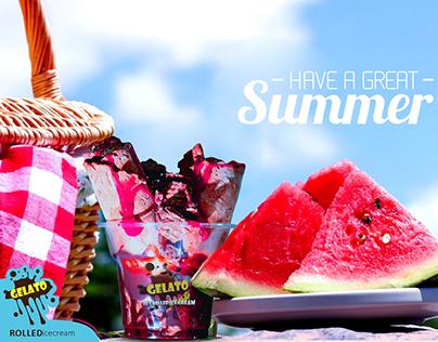 Gelato Summer