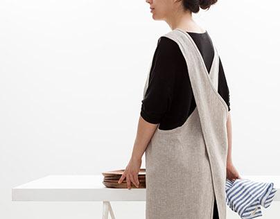 Objective - Crossback & Children Linen Apron