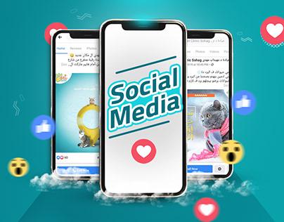 """Social media """"Vet Clinic"""""""