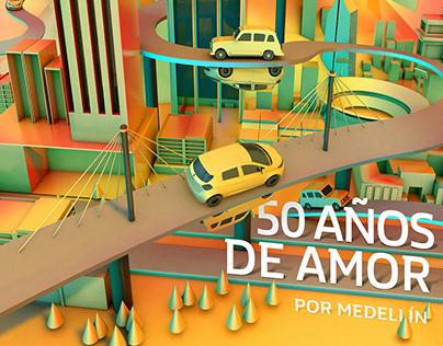 50 AÑOS DE AMOR POR MEDELLÍN