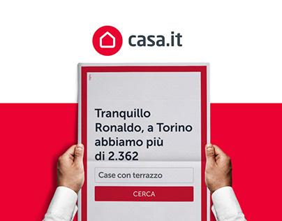 Casa.it Realtime campaign