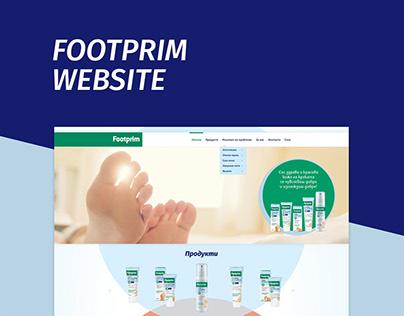 Footprim Website