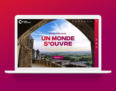 Tourism website – Grand Carcassonne