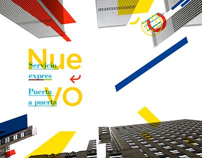 Rebranding Correo Argentino Diseño Institucional UBA