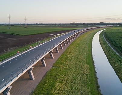Hoogwatergeul - Flood channel Veessen - Wapenveld