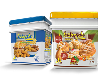 Novas embalagens Triângulo Alimentos