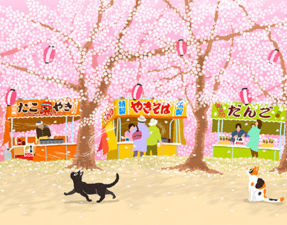 TABINEKO-Sakura Festival