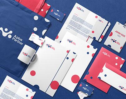 Aplus Partner Brand Identity Design.