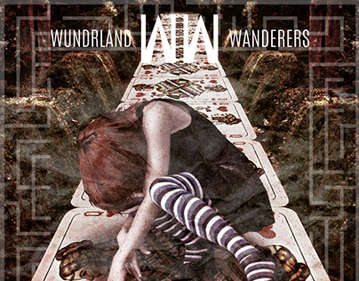 Wundrland Wanderers Faux Album Cover