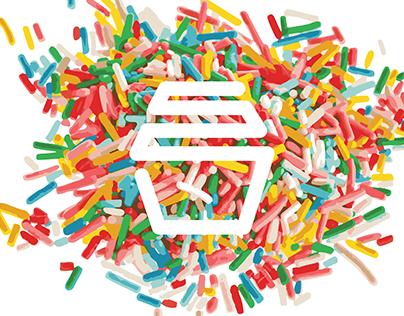 Logo and Webpage Design - Sprinkles Cupcakes