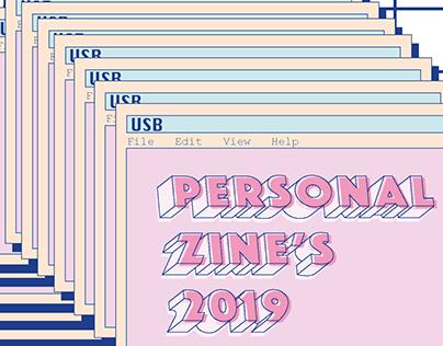 Personal Zine's 2019