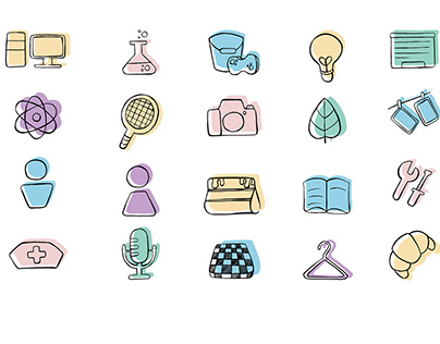 School visual identity system