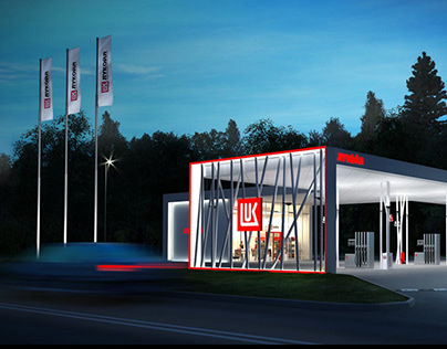 LukOil Gas Station Project