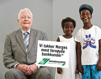 Campaign - Sparekassen local bank