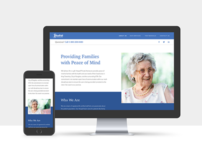 Hospall Website Redesign