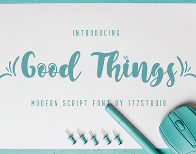 Free Font - Good Things
