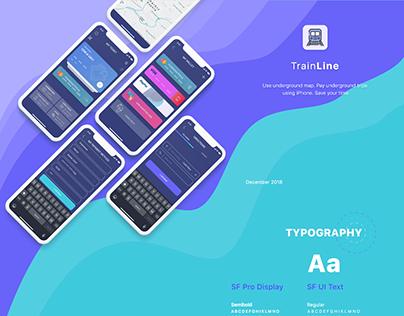Train Line App
