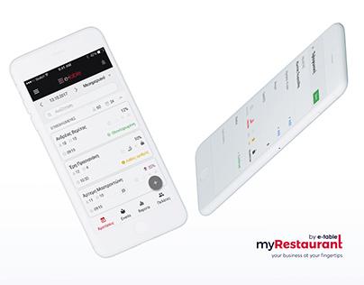 Restaurant Management B2B app