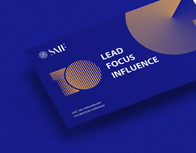 SAIF 10th Anniversary Visual Design