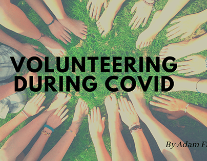 Volunteering During COVID | Adam Ficnik