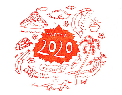 2020 Calendar inspired by Indonesia