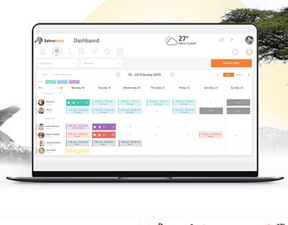 Scheduler Webapp