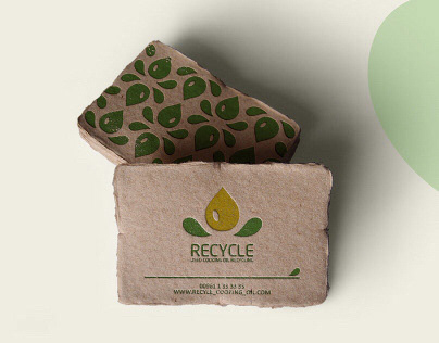 |RECYCLE| Used Cooking Oil Recycling (Logo Design)