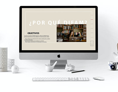 Rediseño de la página web Fundación DIFAM