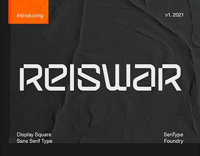Reiswar - Display Type - Free Font