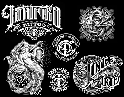 Logo, lettering and monogram collection