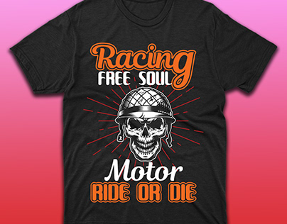 Racing T-Shirt Design