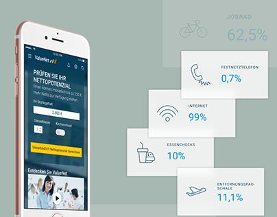Web and mobile application for companies and employees