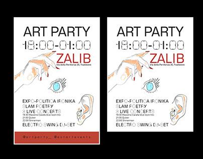 ART PARTY N.7 AT ZALIB