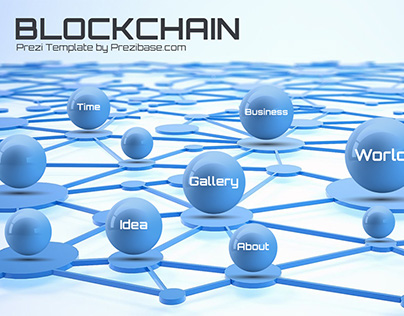 Blockchain/Cryptocurrency Prezi Presentation Template
