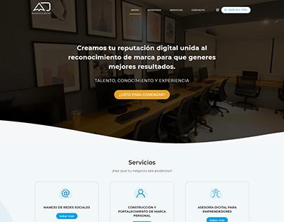 AD Management - Website