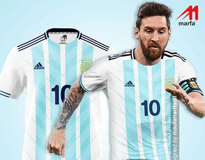 ARGENTINA FANTASY DESIGN CONCEPT BY MAULANARIFADLI