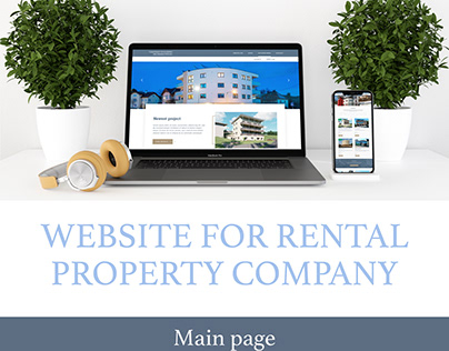 WEBSITE: for rental property company