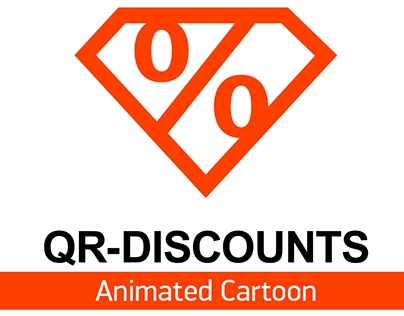 """Animated Cartoon about company """"QR-Discounts"""""""