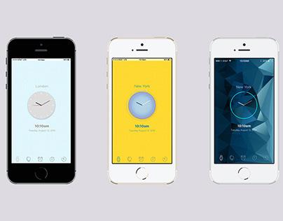 Redesigning the Clock App