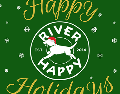River Happy social media graphics