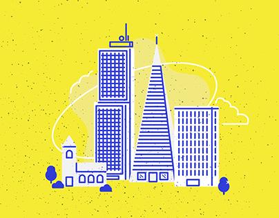 ベクトル都市- Vector Cities