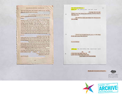 Qatar Foundation | Books vs. Movies Print Campaign