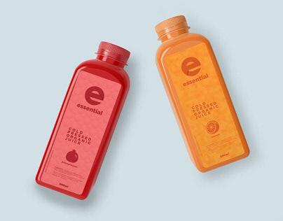 Essential Juice Branding